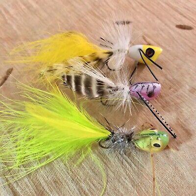 6 Cocoa Foam Spider Fishing Flies Bluegill Bream Bass