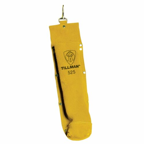 "Genuine Tillman 525 Leather Electrode Rod Holder Welding 3.5""w x 14""h Bag 5LBS"
