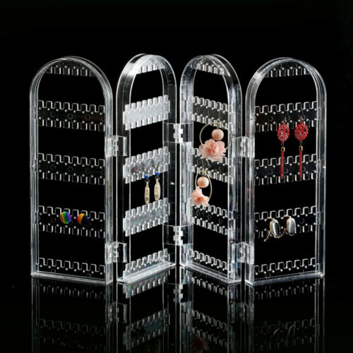 Jewellery - Foldable Jewellery Display Stand Holder Necklace Stud Earring Storage Organiser
