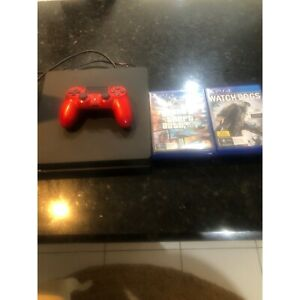 PlayStation 4 with 7 games