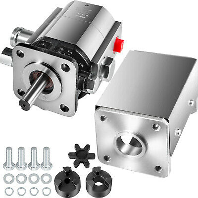 Vevor 2-stage Log Splitter Pump Kit 13 Gpm Hydraulic Gear Pumps 78 Crankshaft