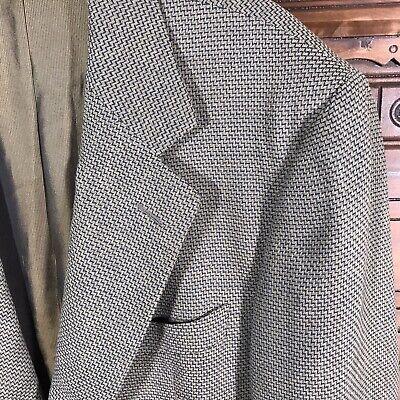 Ermenegildo Zegna Soft Linen Wool Blend Sport Coat Blazer Jacket Men's US 44 R