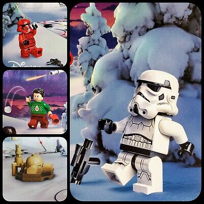 Lego Disney 2020 Star Wars Advent Calendar Set of 4 Poe and other minifigs