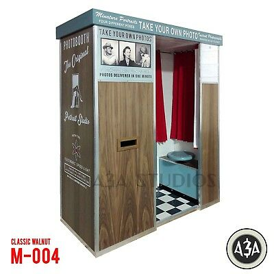 PHOTOBOOTH by A&A STUDIOS - Classic Vintage Style Digital Retro Photo Booth M004