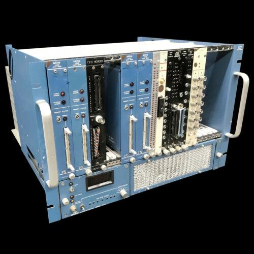 LeCroy 1434AP Camac Power Supply Nim Bin Crate ~ Loaded!