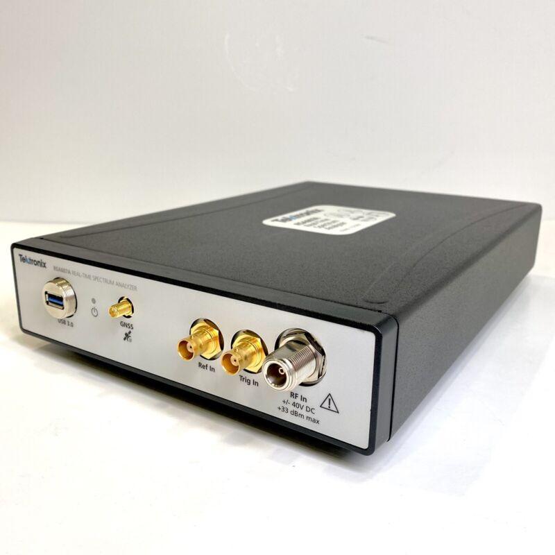Tektronix RSA607A 7.5 GHz/40 MHz USB Real Time Spectrum Analyzer