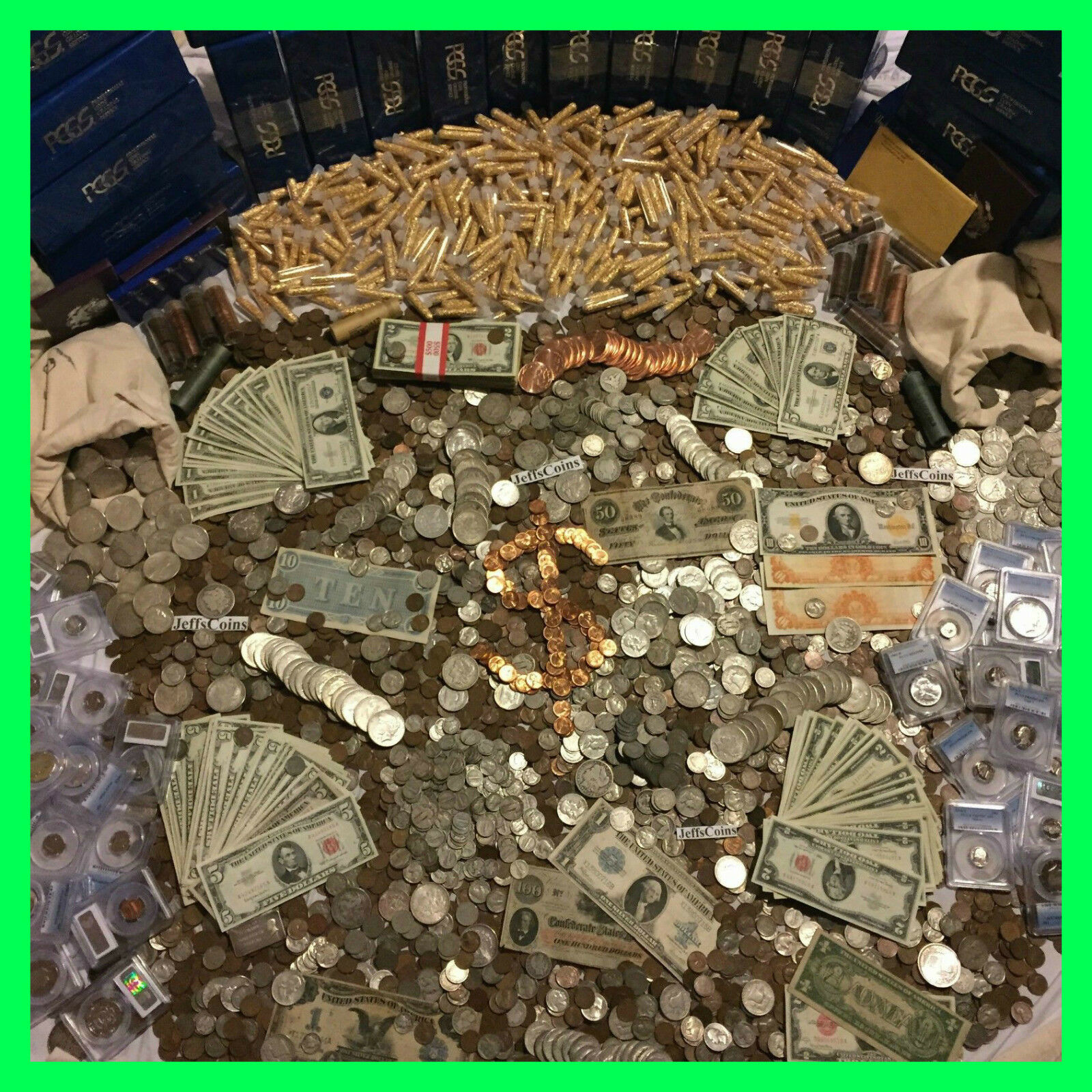 Best  ✯ESTATE SALE OLD US COINS $✯ GOLD .999 SILVER BULLION✯GEMS✯PCGS MONEY HOARD LOT✯