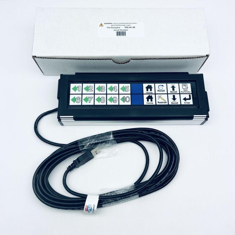 TDS BUMPBAR TDS-AL-20, V.3.0.X FIRMWARE - V.3 CONFIGURATOR - USB CONECCTION
