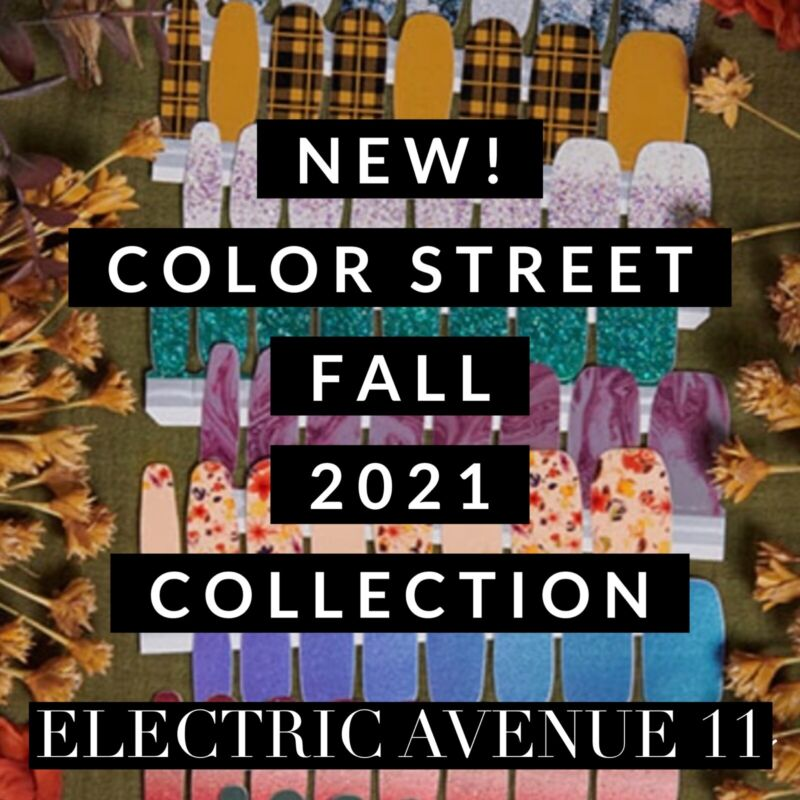 🍁NEW FALL THANKSGIVING COLLECTION COLOR STREET NAIL POLISH STRIPS SET 2021