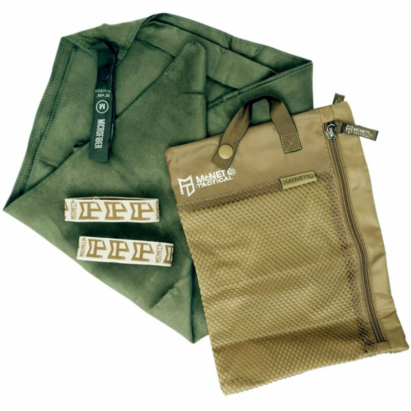 """GEAR AID Quick Dry Microfiber Towel for Travel, Camping, OD Green, XL, 35"""" x 62"""""""