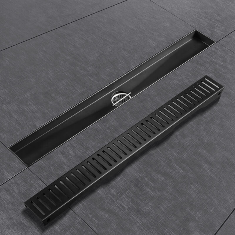 VEVOR Linear Shower Drain 36 inches with Removable Cover 304 Stainless Steel