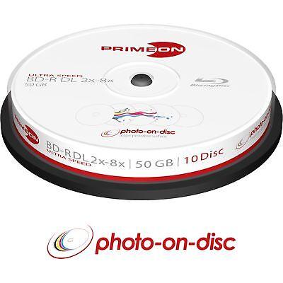 PRIMEON BD-R DL 50 GB 8x, Blu-ray-Rohlinge