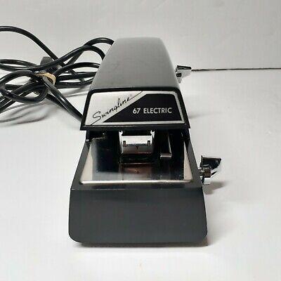 Swingline Model 67 Electric Stapler - Desktop Heavy Duty 20 Sheet Capacity