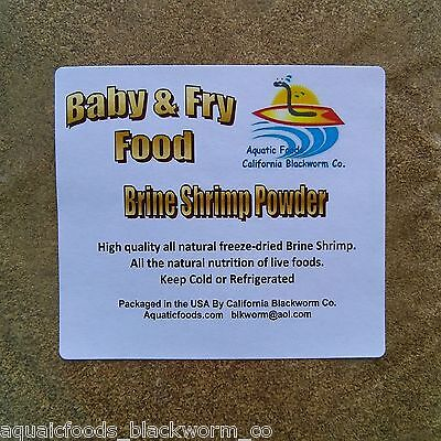 Brine Shrimp Powder Fry & Baby Food