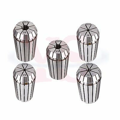 5pc Inch Er16 Collet 183161451638 Er16 Collet Chuck Holder Cnc Usa