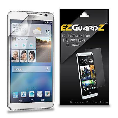 6X EZguardz LCD Screen Protector 6X For Huawei Ascend Mate 2 4G (Ultra Clear) 4g Lcd Screen Protector