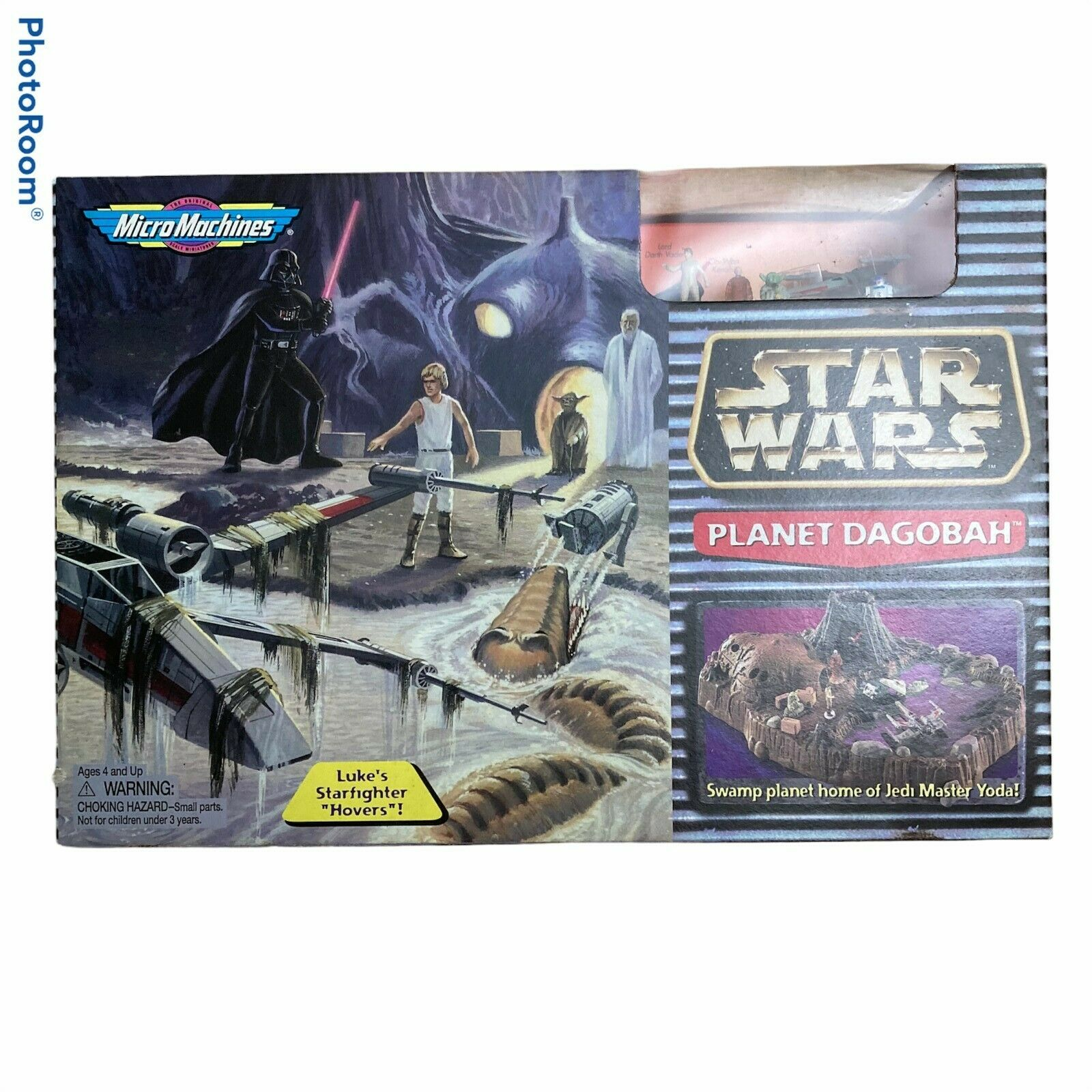Star Wars Planet Dagobah Micromachines SEALED Playset 1997
