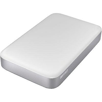 Buffalo Technology MiniStation Thunderbolt 2 TB, Festplatte, weiß