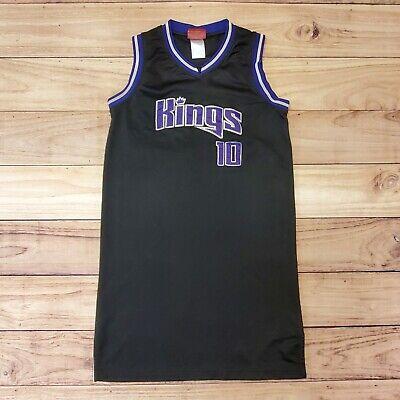 NBA - VTG REEBOK SACRAMENTO KINGS JERSEY DRESS MIKE BIBBY - YOUTH GIRLS L