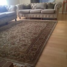 Beautiful hand made Indian rug from David Jones Naremburn Willoughby Area Preview