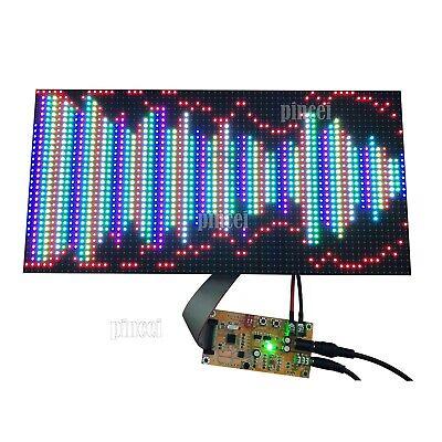 Full Color Music Spectrum Display For Ktv Stage 64 Mode As128 Sound Control
