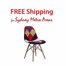 Clearance SALE - Eames Style DSW /DSR Patchwork Dining Chair Zetland Inner Sydney Preview