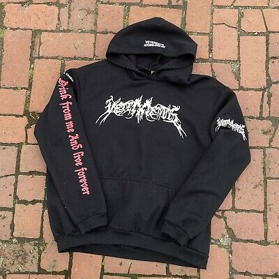 vetements hoodie Total Darkness Drink Love Forever Inhell Exhell Sweater Jacket