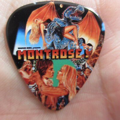 MONTROSE Band Collectors Novelty Guitar Pick; Classic 1970s Warner Bros Presents