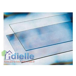 Lastra vetro sintetico trasparente cm 50x100 spessore 2 mm for Finestra 50x100