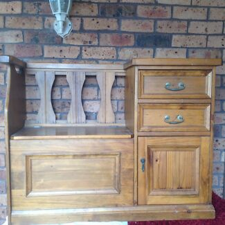 Timber cabinet  with drawers and seat Mount Riverview Blue Mountains Preview