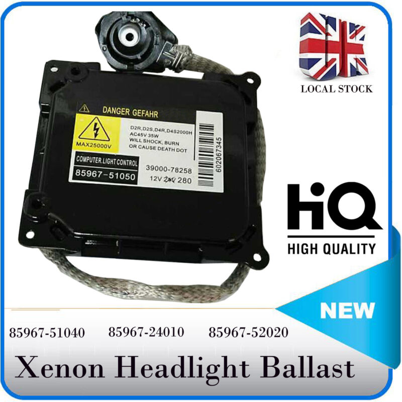 Xenon HID Headlight D4SD4R Control Unit ECU Ballast for Toyota Lexus 85967-51040