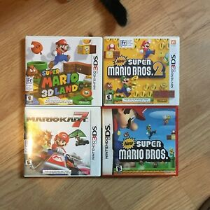 Mario kart 7 and more 3ds games