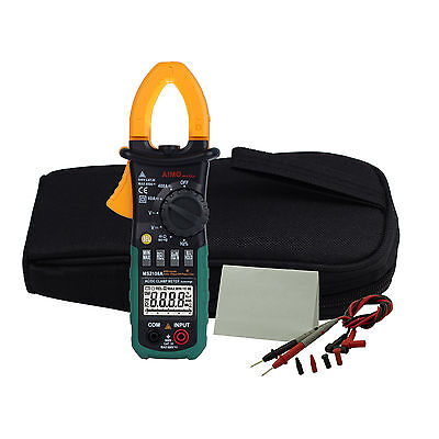 New Us Ship Ms2108a Digital Clamp Meter Acdc Current Voltage Resistance Tester