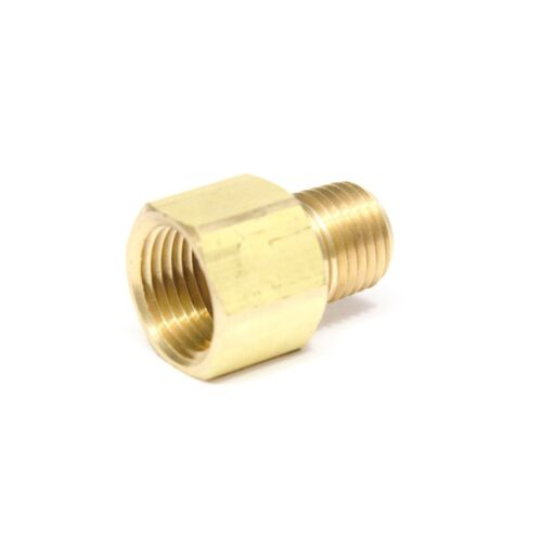 """Reducer 3/8"""" Female NPT x 1/4"""" Male NPT Pipe Adapter Brass Air Fuel Gas FasParts"""