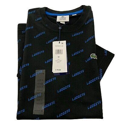 Lacoste Mens T-Shirt Size : M(4) Color : Black Was $70