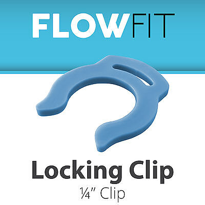 (Blue Clip For Locking Quick Connect Fittings 1/4