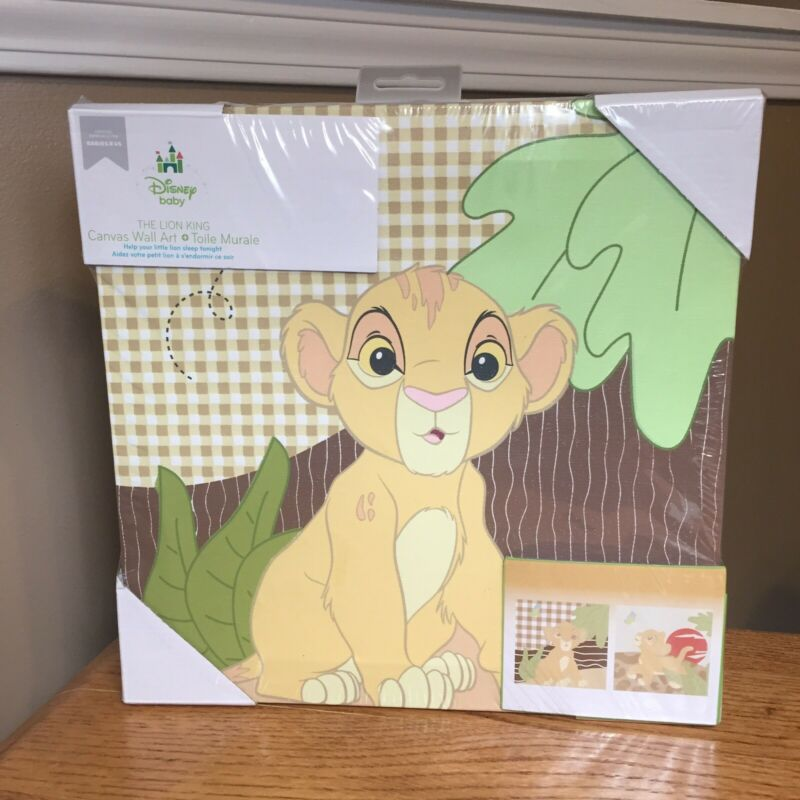 Disney The Lion King 2 Piece Canvas Wall Art by Disney Baby Room Decor BabiesRUs