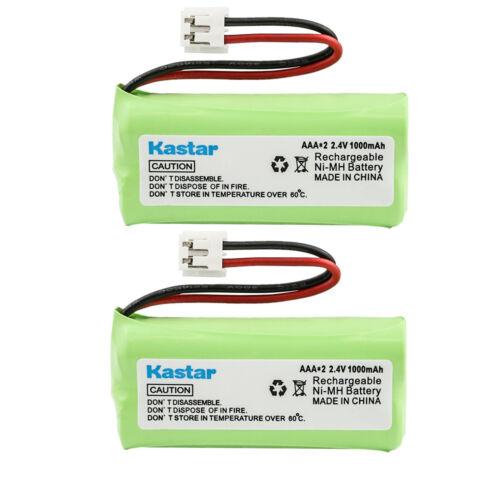 Kastar 2 Pcs Cordless Phone Battery for AT&T Lucent BT18433 BT28433 BT6010 BT800