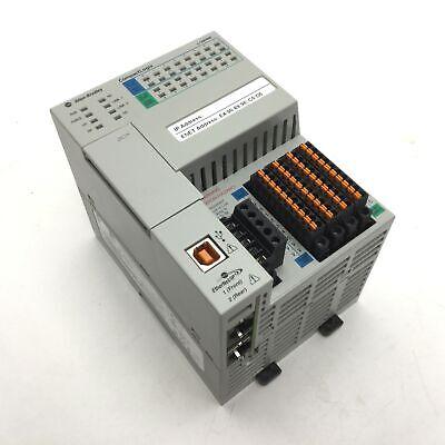 Allen Bradley 1769-l18erm-bb1b Compactlogix 0.5mb Plc Controller 24vdc 4a