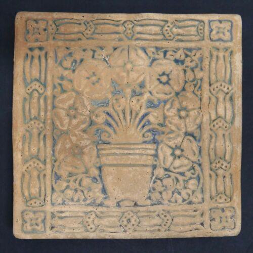 Batchelder California Tile Flower Pot Version 2