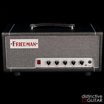 NEW FRIEDMAN MINI DIRTY SHIRLEY 20 WATT HAND WIRED EL84 TUBE GUITAR AMP HEAD