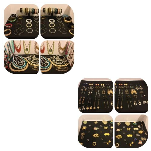 Huge Lot Vintage to Now Costume Jewelry, 120 pieces