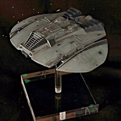 Battlestar Galactica, Cylon Raider Model on Custom Stand, Joyride