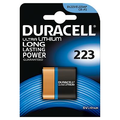 Duracell Ultra Lithium 223 Batterien Photo CR-P2 6V 1er Blister