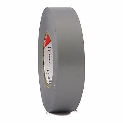 1 Roll Gray Vinyl Pvc Electrical Tape 34 X 66 Flame Retardant Free Shipping