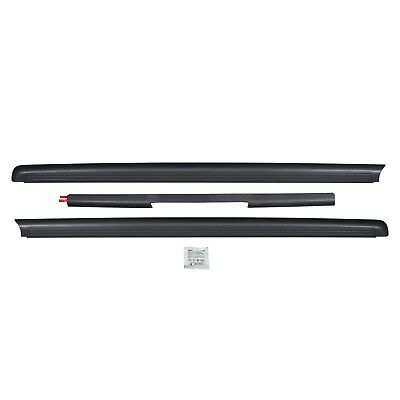 NEW OEM 2005-2014 NISSAN FRONTIER KING CAB BED RAIL PROTECTORS CAPS 3 PIECE (Cab Protector)