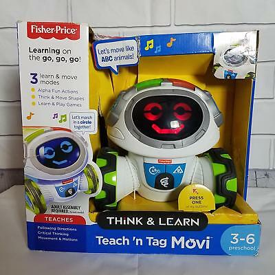 Fisher Price Think   Learn Teach N Tag Movi Pre School Kids Interactive Toy