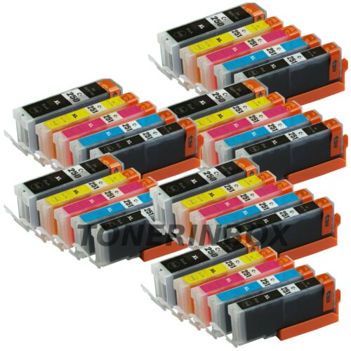 Купить 30 Ink Cartridges For Canon PIXMA PGI-250XL CLI-251XL MG5420 MG5520 MX722 MX922