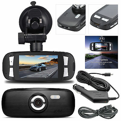 "G1W 2.7"" 1080p HD In Car DVR Vehicle Camera Dash Cam Recorder 120° Night Vision"