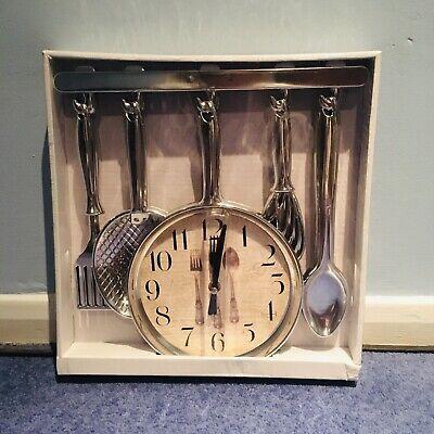 NEW Kitchen Clock Kitchen Utensils Accessories Battery Clock